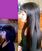 Portfolio coiffeur avant-après